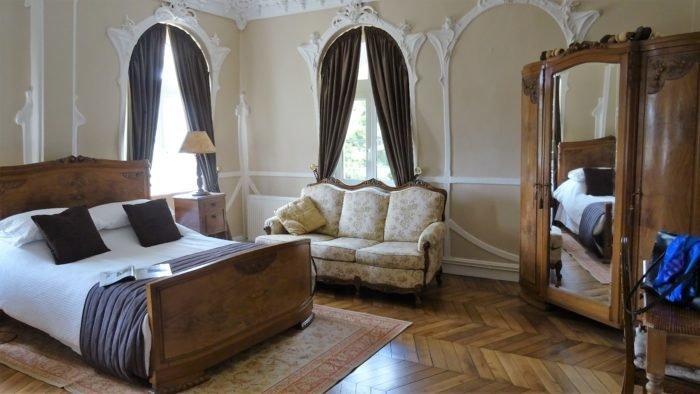 Chambre d'hôte, Art Nouveau